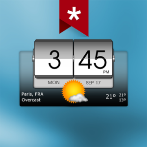 3D Flip Clock & Weather Pro v5.40.2 (Paid)