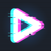 90s - Glitch VHS & Vaporwave Video Effects Editor icon