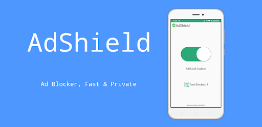 AdShield - Ad blocker, No more ads & tracking