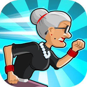 Angry Gran Run – Running Game v2.12.1 (Mod – diamonds)