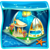 Aquapolis. Free city building! icon