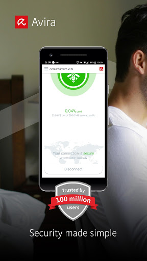 Avira Phantom VPN v9 8 7 (PRO Cracked) | Apk4all com