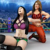 Bad Girls Wrestling Rumble: Women Fighting Games icon