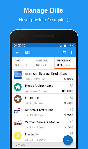 Bills Reminder, Payments & Expense Manager App v1 6 6 (Unlocked