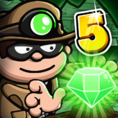 Bob The Robber 5: Temple Adventure by Kizi games icon