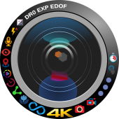 Camera4K Perfect Selfie Video Photo Editor icon