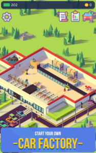 Car Industry Tycoon - Idle Factory Simulator v1.6.6 (Mod - Money)