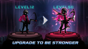 Cyber Fighters: Legends Of Shadow Hunter v1.11.40 (Mod - Gold)