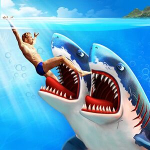 Double Head Shark Attack-Multiplayer v8.2 (Mod)