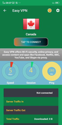 Easy VPN | Free 195 countries VPN