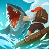 Epic Raft: Fighting Zombie Shark Survival icon