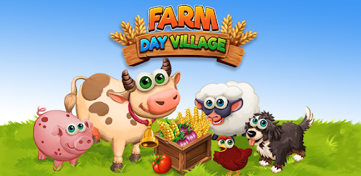 Farm Day Village Farming: Offline Games