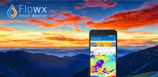Flowx MOD APK : Weather Map Forecast App v3.322 (Pro)