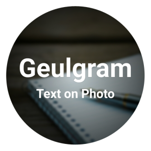 Geulgram – Text on Photo, quote maker v2.5.6 (Ad Free)
