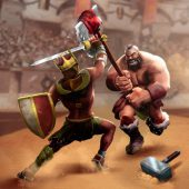 Gladiator Heroes Clash - Fight epic clan battles icon