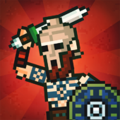 Gladihoppers - Gladiator Battle Simulator! icon