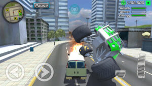 Grand Action Simulator - New York Car Gang v1.4.2 (Mod - Free purchase)