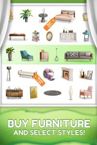 Homecraft - Home Design Game v1.20.3 (Mod-Unlimited Coin)
