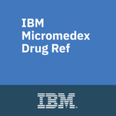 IBM Micromedex Drug Ref icon