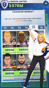 Idle Eleven - Be a millionaire football tycoon v1.14.1 (Mod - Money)