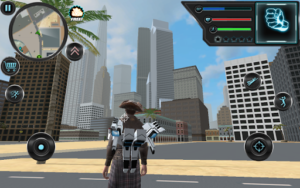 Jetpack Hero Miami Crime v1.6 (Mod - Money)