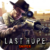 Last Hope Sniper - Zombie War v3.02 (Mod - Unlimited Money)