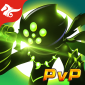 League of Stickman 2019- Ninja Arena PVP(Dreamsky) icon