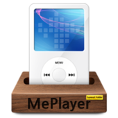 MePlayer Music (MP3, MP4 Audio Player) icon