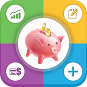 Money and Expense Manager Offline: Daily, Monthly icon