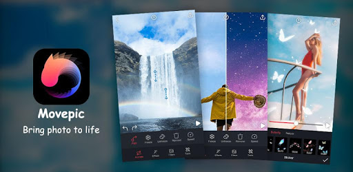 Movepic - photo motion &3D loop photo alight Maker
