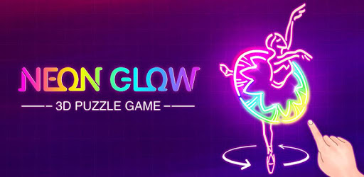 Neon Glow - 3D Color Puzzle Game