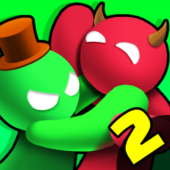 Noodleman.io 2 - Fun Fight Party Games icon