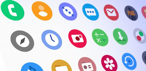 OneLook Circle Icon Pack - ONE UI v1 0 (Patched) | Apk4all com