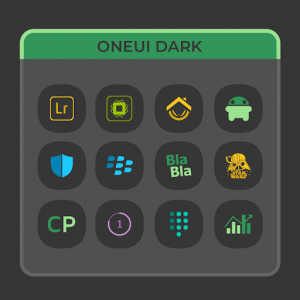 OneUI Dark - Icon Pack v2.9 (Patched)