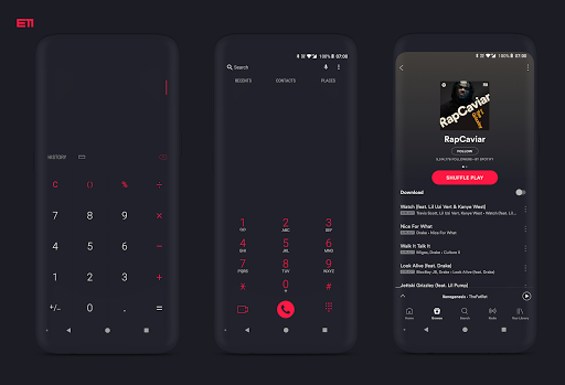 PitchBlack S - Samsung Substratum Theme for Oreo v25 7 | Apk4all com