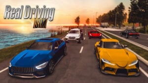 Real Driving Sim v4.5 (Mod -  Money/XP) + Obb