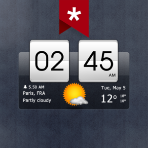 Sense Flip Clock & Weather Pro v5.42.1 (Paid)