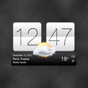 Sense V2 Flip Clock & Weather v5.42.1 (Premium)