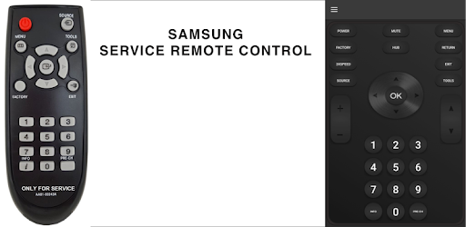 Service remote control for any samsung smart tv