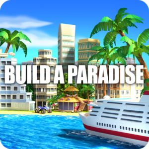 Tropic Paradise Sim: Town Building City Game v1.5.1 (Mod – Money)