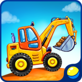 Truck games for kids - build a house 🏡 car wash icon