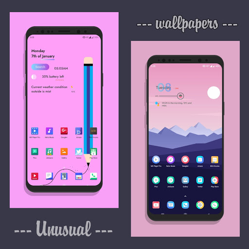 Unusual Wallpapers