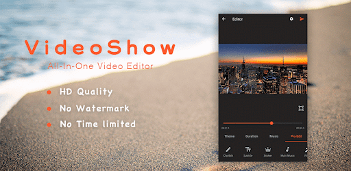 VideoShow Pro - Video Maker with Music v8 5 2rc (Mod) | Apk4all com