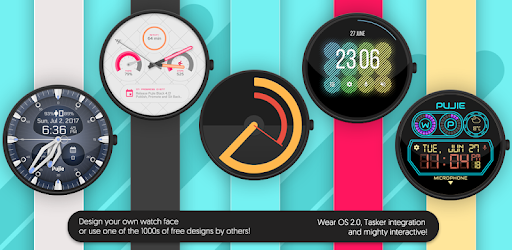 Watch Face - Pujie Black for Android Wear OS v4 0 67 | Apk4all com