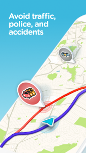 Waze MOD APK - GPS, Maps, Traffic Alerts v4.73.0.3 Beta