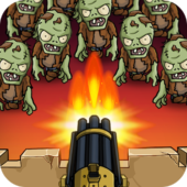 Zombie War: Idle Defense Game icon